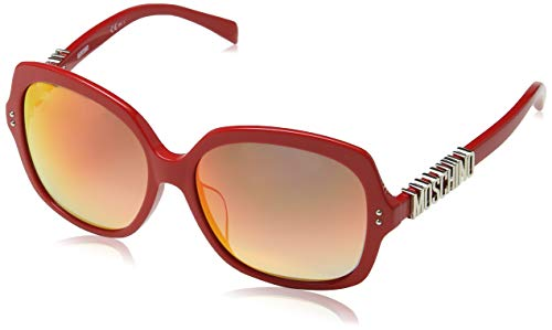 Moschino  MOS014/F/S Moschino Sonnenbrille Mos014/F/S Groß  Sonnenbrille 57, Rot