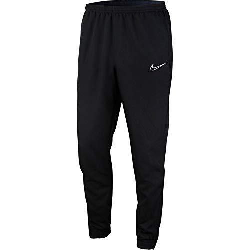 Nike Herren M NK DRY ACDMY WPZ Hose, Black/White, L