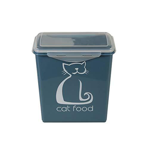 IMDOU Pet Lagerung Getreide Eimer, Sealed Getreidelagercontainer, Feuchtraum-Vorratstank, Katze und Hund Snack Box, 3kg Trockenfutterbehälter