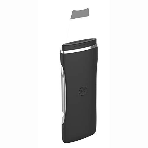 Épurateur De Peau Peeling Épurateur Chargement USB 3 Modes À Changer Peeling Appareil De Massage Facial Convient Pour Éliminer Les Points Noirs Nettoyer La Peau Instrument Pore Cleaner,Noir