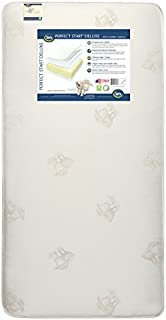 Serta Perfect Start Deluxe Fiber Core/Foam Crib and Toddler Mattress   Waterproof   GREENGUARD Gold Certified (Natural/Non-Toxic)