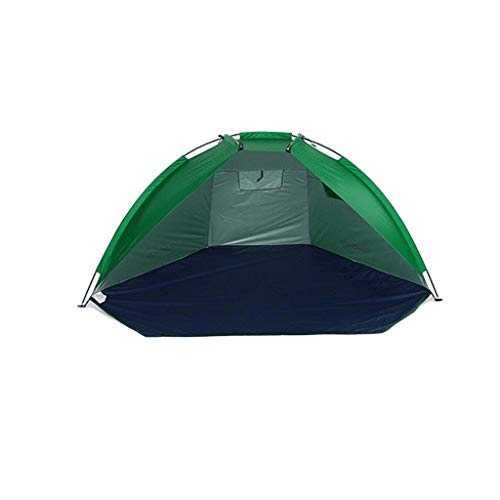 Chenshun Outdoor Collapsible Beach Tents Shelters Sunshade UV Protection Ultralight Tent For Fishing Picnic Park Outdoor Tools (Color : Green)