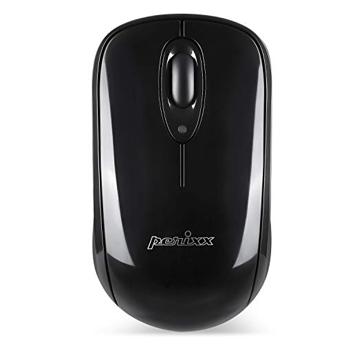 Perixx Perimice-803 Wireless Bluetooth Mouse for Windows, Android, Tablet, PC and Mac- 3 Buttons