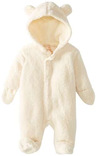 Magnificent Baby Unisex-Baby Infant Hooded Bear Pram, Cream, New Born