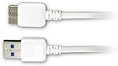Samsung SM-T900 Tablet USB Cable Micro USB 3.0 Sync Charge Data Cable- 3ft White