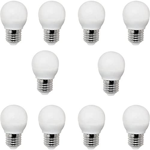 OSSUN - Lampadina LED sferica con filettatura fine E-14 - 6 W