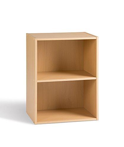 Alsapan 91454 Regal Cube 02, 2Fächer, 40x29x54cm, Buche