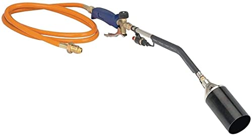 SoB Push Button Igniter Propane Torch Wand Ice Snow Melter Weed Burner Roofing Heavy Duty Weed Burner