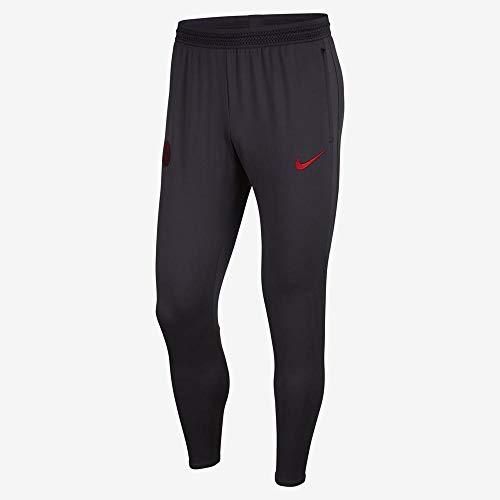 Nike Herren PSG Dry Strike n KP Hose, Oil Grey/Obsidian/University R, L
