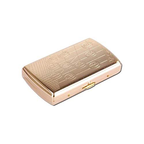 ZGQA-AOC Caja de Cigarrillo, Cigarrillo Caso, 12 Piezas de B