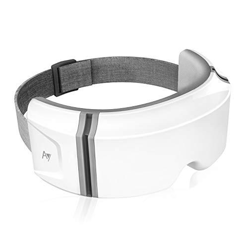 2020年最新版 アイウォーマー 最新グラフェン技術 18Dダブルエアバッグ 音楽機能 日本語サポート USB充電式 タイマー機能 日本語説明書 両親・主人・奥さん・子供・友達にプレゼント最適