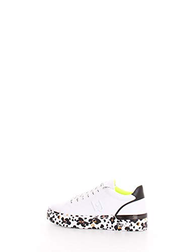 Scarpe Donna Liu-Jo Sneaker MOD. Silvia in Ecopelle Bianco/Nero DS20LJ09