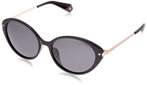 Polaroid Eyewear Pld 4077/F/S Occhiali da sole Donna, Black 57