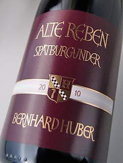 フーバーシュペートブルグンダー[アルテ・レーベン][2016](ベルンハルト・フーバー)HuberSpaetburgunder[AlteReben]Q.b.A.trocken[2016](WeingutBernhardHuber)【ドイツ辛口赤ワイン】
