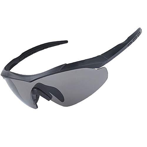YUI Military Ballistic Schutzbrille Tactical Armee Sonnenbrille CS Gläser 3 Lens Kit Winddicht, staubdicht und stoßfest, Herren