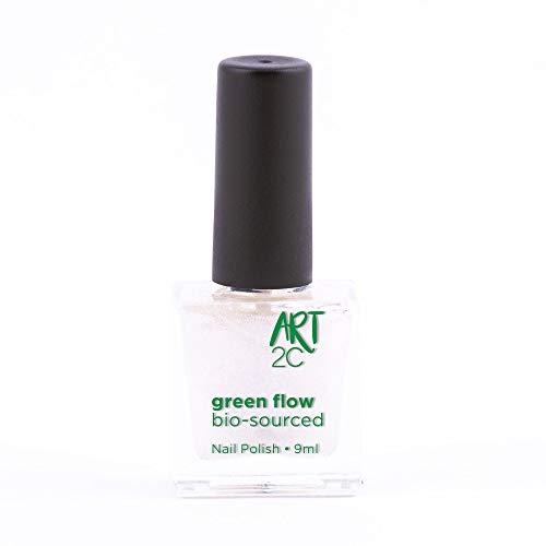 Art 2C - Esmalte de uñas puro con fórmula 85% ecológica y vegana, 24 colores, 9ml, color: Pearl (19)