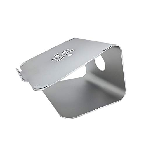 Soportes para Portátiles Escritorio aumento de la disipación de calor de aleación de aluminio de elevación bastidor de suspensión del soporte de ventilación PC Soporte (rosa) Soporte Ordenador Portáti