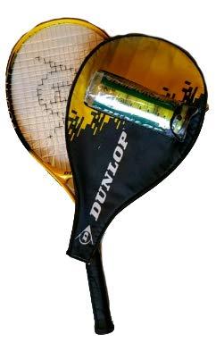 Dunlop Power Plus 105 - Raqueta de Tenis y Pelotas
