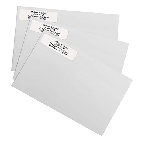 Clear Rolled Address Labels Without Elegant Dispenser - Roll of 500 Photo #3