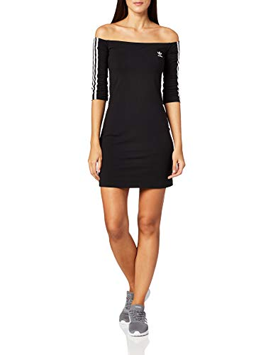 adidas Shoulder Dress Frauen Kurzes Kleid schwarz XS