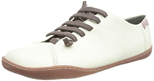 CAMPER Peu Cami, Zapatillas Mujer, White Natural, 40 EU