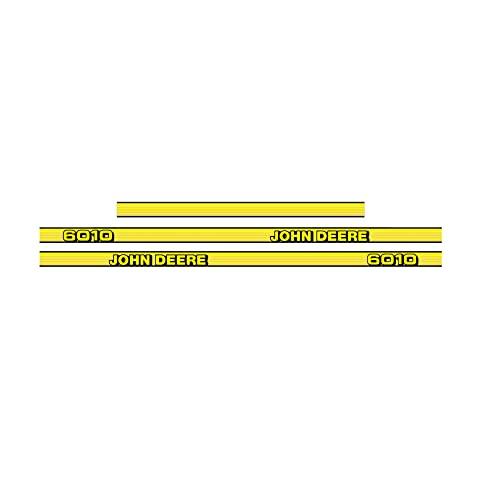 411 DECALS Juego de pegatinas de repuesto compatibles con John Deere 6010 Tractor Decal