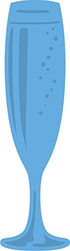 Marianne Design Creatables Troqueles con diseño Champán, Metal, Azul, 2,7 x 9,5 x 0,4 cm