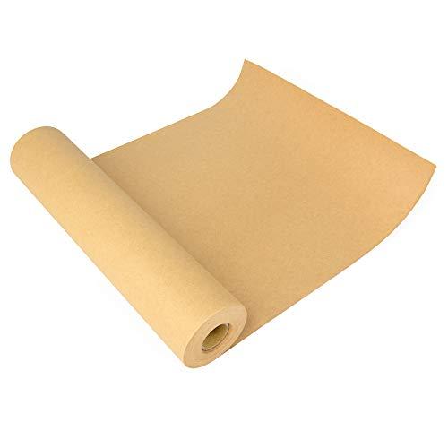 ewtshop® Kraftpapier-Rolle, 30,5 cm x 30 m, Kraftpapier zum Malen, Basteln, Verpacken oder als Füllmaterial