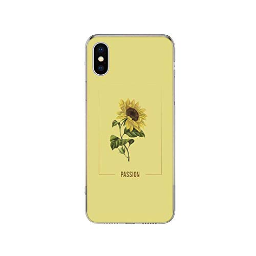 Love Passion Flower Ball - Carcasa de silicona suave para iPhone 11, 12, Mini Pro XR X XS Max 7, 8, 6 y 6S Plus + 7G 6G 5 SE Cover-TF184-5-iphone 11 Pro Max