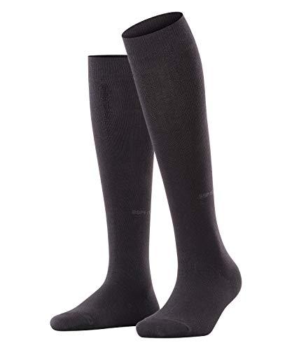 ESPRIT Damen Basic Pure W KH Socken, Blickdicht, Schwarz (Black 3000), 39-42 (UK 5.5-8 Ι US 8-10.5) (2er Pack)