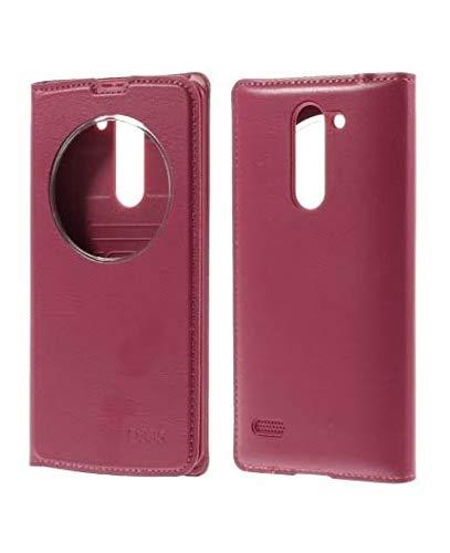 Leather Flip Case Cover forLG L Bello D335 - Pink