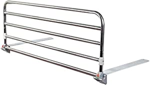 Playpens Folding Portable Bed Rail Safety Side Guard for Elderly  Adults  amp  Assist Handle Handicap Bed Railing Hospital Metal Grip Bumper Bar  Stainless Steel