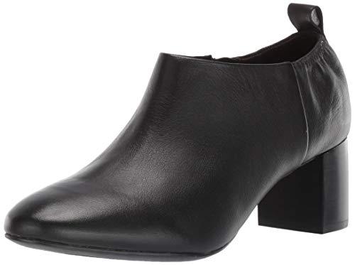 Aerosoles Women's CAYUTA Ankle Boot, Black Leather, 7.5 M US