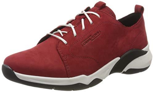 camel active Damen Starlight Sneaker, Rot (red 01), 39 EU