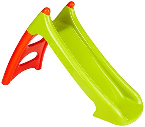 Smoby-310270 Tobogán pequeño XS Verde y Rojo (+3 años), Color (310270)