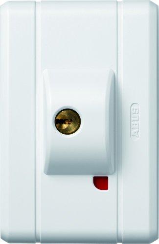ABUS Fenster-Zusatzsicherung FTS99 AL0125 – Fensterschloss 2 verkrallenden Stahlriegeln, gleichschließend – Sicherheitslevel 10 – 31749 – Weiß