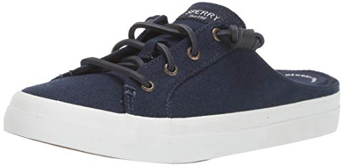 Sperry Crest Vibe Mule Canvas Navy 6 M (B)