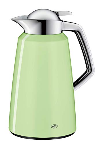 alfi 1611.281.100 Isolierkanne Vito, Edelstahl Powder Green 1,0 l, 12 Stunden heiß, 24 Stunden kalt