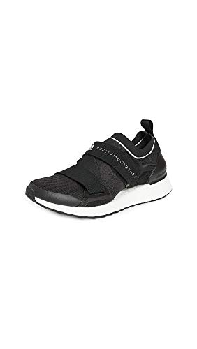adidas by Stella McCartney Women's Asmc Ultraboost X Sneakers, CBlack/CBlack/FTWWht, 9.5 Medium US