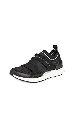 adidas by Stella McCartney Women's Asmc Ultraboost X Sneakers, CBlack/CBlack/FTWWht, 5.5 Medium US