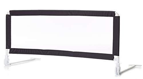 Fillikid Bettschutzgitter Exclusiv & Rausfallschutz für Baby & Kinder | Maße 135x60cm | hohes, klappbares Bettgitter für Betten & Boxspringbetten