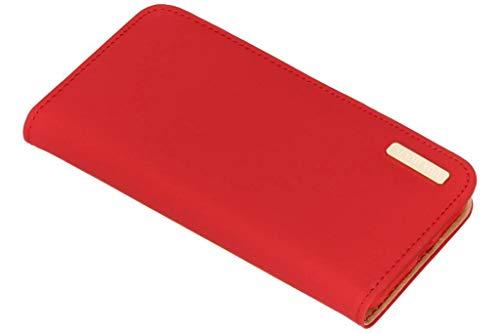 Dux Ducis Genuine Leather Case Rojo para el iPhone XS/X