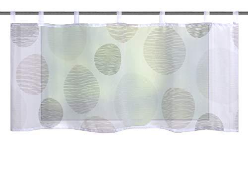 Home fashion BORDEN, polyester, steen, 45x120 cm