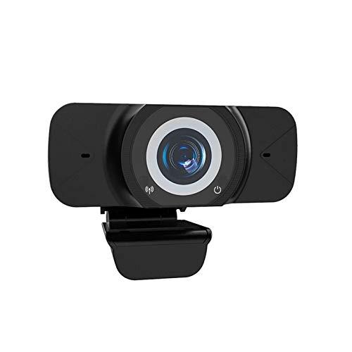 DYecHenG Cámara Web Full HD 1080P Webcam De Gran Angular Cámara De Transmisión En Vivo con Micrófono Cámara De La Computadora USB para Juego de Grabación de Conferencias (Color : Black, Size : 1080P)