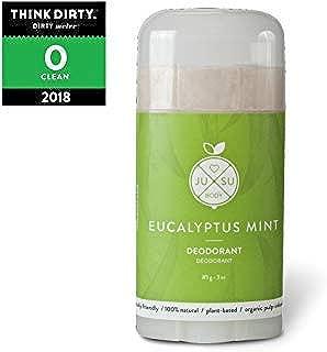 JUSU Body Eucalyptus Deodorant - 100% Natural - 3 oz