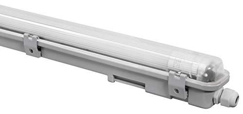 McShine - LED Feuchtraumleuchte | 24W | 150cm | neutralweiß | IP65 Kellerleuchte für feuchte & staubige Räume