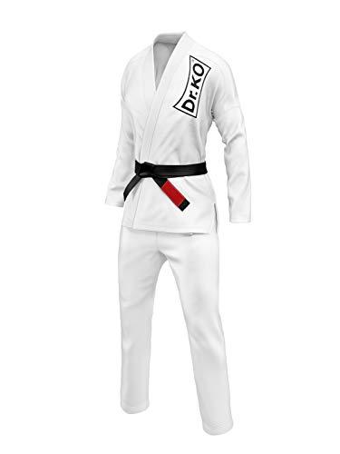 Dr. K.O. Kimono Jiu Jitsu BJJ GI (Blanco, A3)