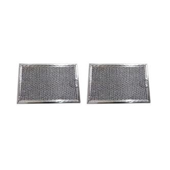 """2-PACK GE PS228066 Microwave Hood Grease Filter 5"""" x 7-5/8"""" x 3/32"""" AFF73-M"""