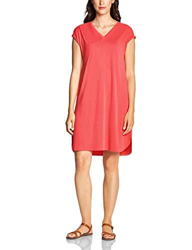 Street One Damen 142496 Kleid, Bright Coral, (Herstellergröße:40)