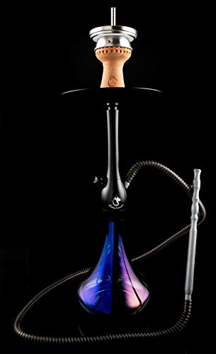 Dschinni Chucky Black Purple Rain Shisha Set